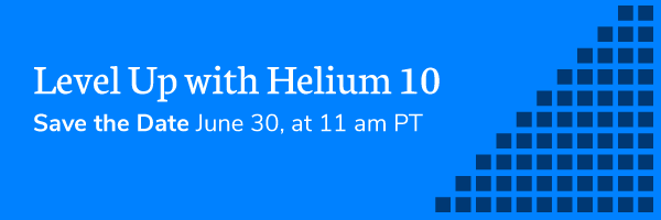 [URGENT] Spots are running out for Level Up with Helium 10